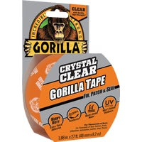 6027002 Gorilla Crystal Clear Duct Tape Gorilla Repair Tape