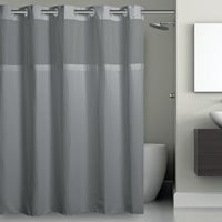 RBH40MY225 SureFit EZ-On Hookless Shower Curtain With PEVA Liner curtain shower