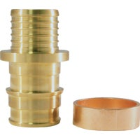 EPXBC125PK Conbraco Brass Insert Fitting Polybutylene Transition Coupling Type A coupling pex