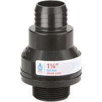 2451 ABS Thermoplastic Sump Pump Check Valve check valve