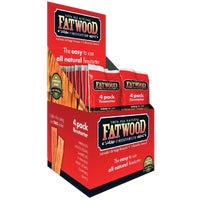 9900 Fatwood Fire Starter Display Box fire starter
