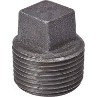 521-801HN B&K Black Pipe Plug 521-801HN, B & K Black Pipe Plug