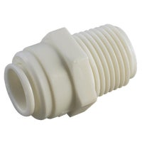 53068-1008 Anderson Metals Push-in Plastic Connector 53068-1008, Push-in Male Connector