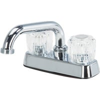 FL020000CP Home Impressions 2-Handle Laundry Faucet With Acrylic Handles faucet home impressions laundry