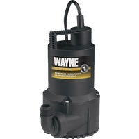 RUP160 Wayne 1/6 HP Continuous-Duty Submersible Utility Pump pump utility