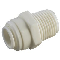 53068-0404 Anderson Metals Push-in Plastic Connector 53068-0404, Push-in Male Connector