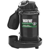 CDT50 Wayne 1/2 HP Cast-Iron Submersible Sump Pump CDT50, Cast-Iron Submersible Sump Pump