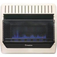 MG30TBF ProCom Dual Fuel Blue Flame Gas Wall Heater MG30TBF, ProCom 30,000 BTU Natural Gas or Propane Gas Vent-Free Blue Flame Wall Heater