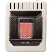 MN1PHG ProCom Infrared Gas Wall Heater MN1PHG, ProCom Vent-Free Infrared Plaque Gas Wall Heater