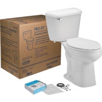 13710017 Mansfield Pro-Fit 3 SmartHeight Toilet Kit fit mansfield pro