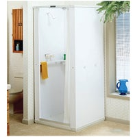 80 Mustee Durastall Deluxe Shower Cabinet With Standard Base shower stall