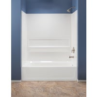 660WHT Mustee Topaz Tub Wall Kit