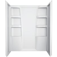 B67513-6030-WH Delta Hycroft Shower Wall Set