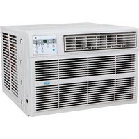 3PACH12000 Perfect Aire 12,000 BTU Window Air Conditioner With Electric Heater aire perfect