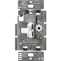 TGCL-153PH-WH Lutron Toggler LED/CFL Slide Dimmer Switch TGCL-153PH-WH, Lutron Toggler LED/CFL Toggle Dimmer Switch