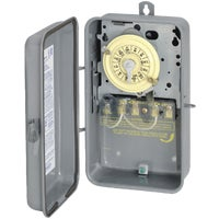 T104RD89 Intermatic Raintight Outdoor Timer outdoor timer