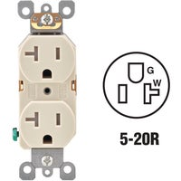 R56-T5820-0TS Leviton Tamper Resistant Residential Grade Duplex Outlet duplex outlet