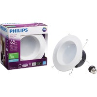 801258 Philips Retrofit 8W LED Recessed Light Kit Philips Retrofit LED Recessed Light Kit