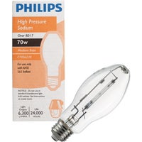 460816 Philips BD17 Medium High-Pressure Sodium High-Intensity Light Bulb Philips BD17 Medium High-Pressure Sodium High-Intensity Light Bulb
