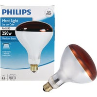 415836 Philips Red R40 Incandescent Heat Light Bulb