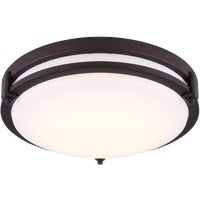 LFM112A13ORB Canarm Gilda LED Flush Mount Light Fixture