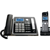 25255RE2 RCA DECT 6.0 Expandable Corded/Cordless Telephone System dect rca