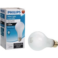 431635 Philips A21 Incandescent Rough Service Light Bulb