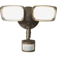 MST203T18B Halo Twin Head LED Floodlight Fixture fixture floodlight
