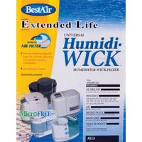 ALL-2-PDQ-3 BestAir Extended Life Humidi-Wick Humidifier Wick Filter with Air Filter ALL-2, BestAir Humidi-Wick Air/Humidifier Filter