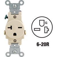 S11-05821-0IS Leviton Heavy-Duty Grounding Single Outlet outlet single
