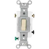 S03-CS320-2IS Leviton Commercial Grade Grounded Quiet Switch 3 switch way
