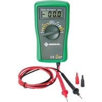 DM-25 Greenlee 6-Function Manual Ranging Digital Multimeter DM-25, Greenlee Digital Volt Multimeter