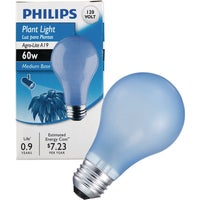 429480 Philips Agro-Lite A19 Incandescent Plant Light Bulb 41624, 41624 GE A19 Plant Light Bulb