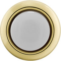 DP-1101A IQ America Round Lighted Doorbell Push-Button DH1202L, Carlon Round Lighted Doorbell Push-Button