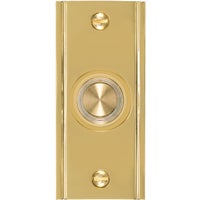 DP-1630 IQ America Wired Lighted Doorbell Push-Button DH1630L, Carlon Wired Push-button