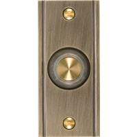 DP-1631 IQ America Wired Lighted Doorbell Push-Button DH1631L, Carlon Wired Push-button