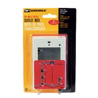 B2 Wiremold Shallow Outlet Box box outlet