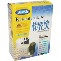 HW500-PDQ-3 BestAir Extended Life Humidi-Wick Humidifier Wick Filter HW500, BestAir Tabletop Humidifier Filter