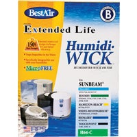 H64-PDQ-4 BestAir Extended Life Humidi-Wick Humidifier Wick Filter H64, BestAir Holmes Replacement Humidifier Filter