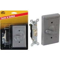 5121-5 Bell Weatherproof Outdoor Switch Cover