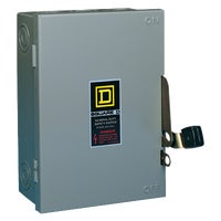 D211NCP Square D Fusible Safety Switch With Neutral