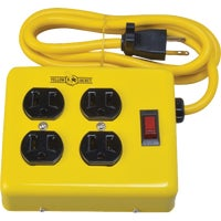 2177N Yellow Jacket 4-Outlet Metal Power Strip