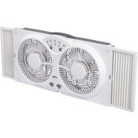 FW23-8HS Best Comfort 9 In. Twin Window Fan best comfort fan window