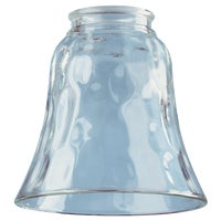 81277 Pebbled Clear Glass Shade
