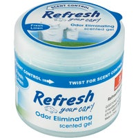 9921 Refresh Your Car Gel Car Air Freshener
