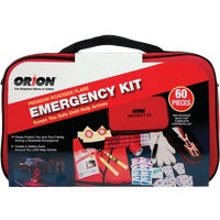 8907 Orion 60-Piece Premium Emergency Road Kit 8907, Orion 60-Piece Premium Emergency Road Kit