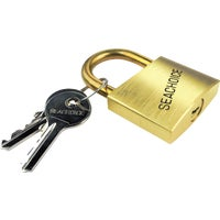 37231 Seachoice Solid Brass Body And Hasp Padlock