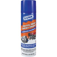 NM1 Gunk Electronic Parts Cleaner NM1, Electric Motor Contact & Brake Cleaner