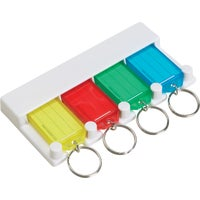 60540 Lucky Line Keytag Rack, 4-Key 60540, Lucky Line Key Tag Rack, 4-Key