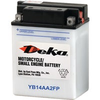 YB14AA2FP Deka Powersport Battery battery powersport